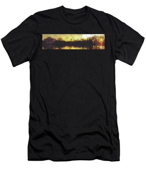 Jefferson Rise Men's T-Shirt (Slim Fit) by Reuben Cole