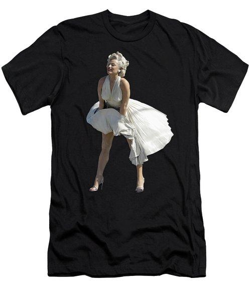 Key West Marilyn - Special Edition Men's T-Shirt (Slim Fit) by Bob Slitzan