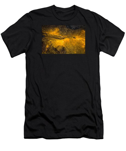 Men's T-Shirt (Slim Fit) featuring the photograph Lava by M G Whittingham