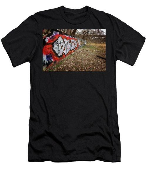 Layers Men's T-Shirt (Slim Fit) by CJ Schmit