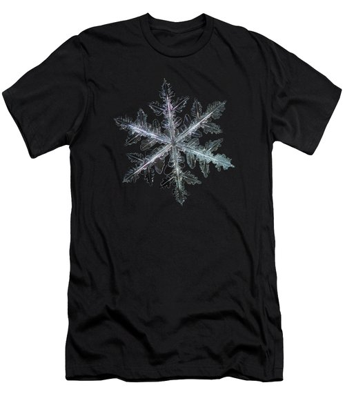 Leaves Of Ice, Panoramic Version Men's T-Shirt (Slim Fit) by Alexey Kljatov