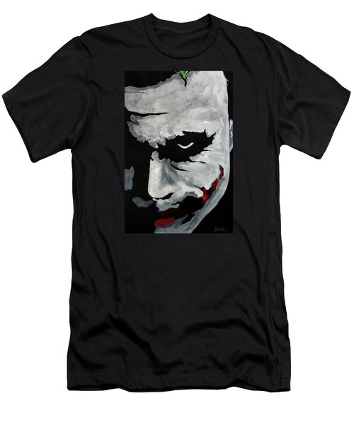 Ledger's Joker Men's T-Shirt (Slim Fit) by Dale Loos Jr