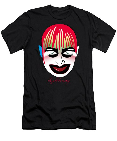 Leigh Bowery Men's T-Shirt (Slim Fit) by Mark Ashkenazi
