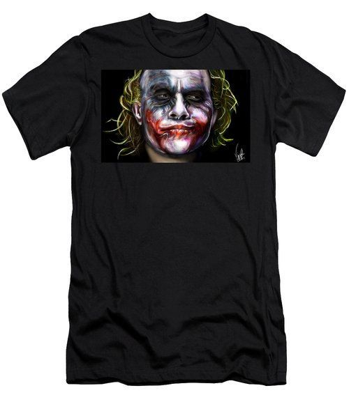 Let's Put A Smile On That Face Men's T-Shirt (Slim Fit) by Vinny John Usuriello