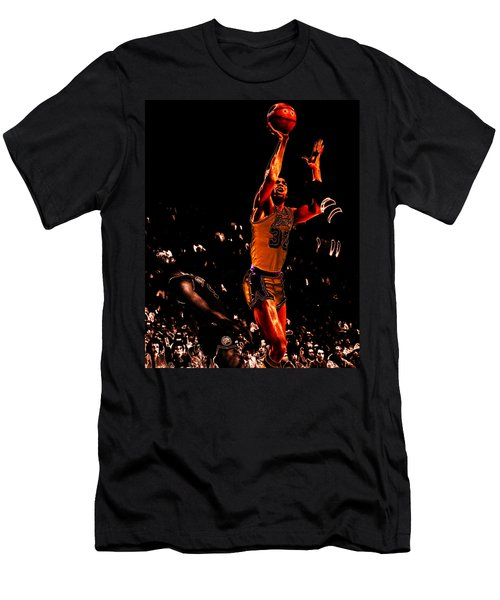 Magic Johnson Lean Back II Men's T-Shirt (Slim Fit) by Brian Reaves
