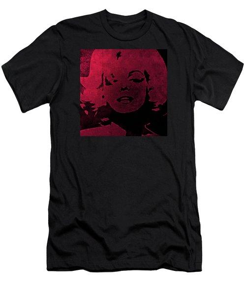 Marilyn Monroe Men's T-Shirt (Slim Fit) by George Randolph Miller