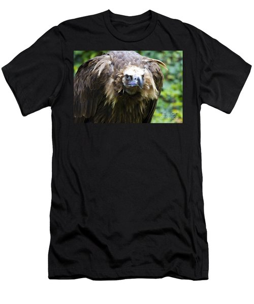 Monk Vulture 3 Men's T-Shirt (Slim Fit) by Heiko Koehrer-Wagner