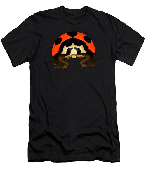 Orange Bug Men's T-Shirt (Slim Fit) by Sarah Greenwell