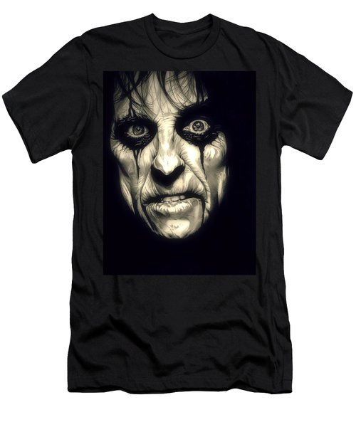 Poison Alice Cooper Men's T-Shirt (Slim Fit) by Fred Larucci