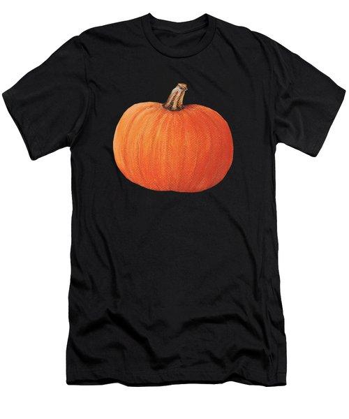 Pumpkin Men's T-Shirt (Slim Fit) by Anastasiya Malakhova