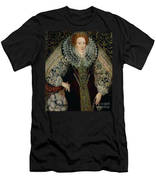 Queen Elizabeth I Men's T-Shirt (Slim Fit) by John the Younger Bettes