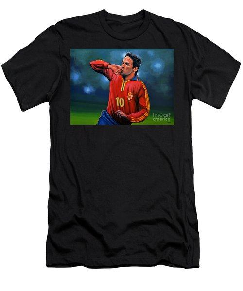 Raul Gonzalez Blanco Men's T-Shirt (Slim Fit) by Paul Meijering