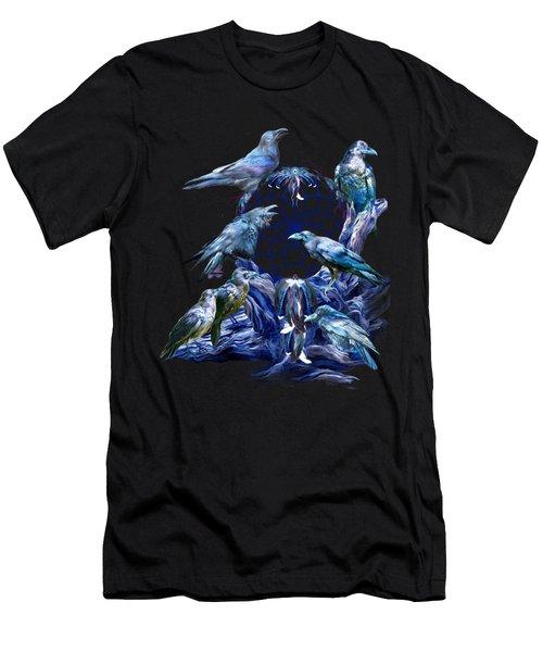Raven Dreams Men's T-Shirt (Slim Fit) by Carol Cavalaris