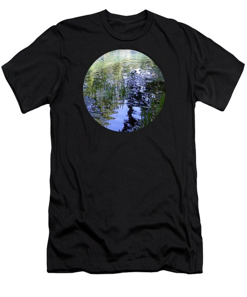 Reflections  Men's T-Shirt (Slim Fit) by Mary Wolf