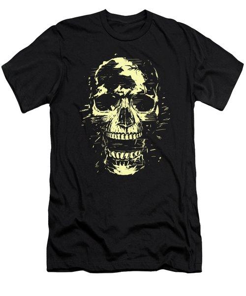 Scream Men's T-Shirt (Slim Fit) by Balazs Solti
