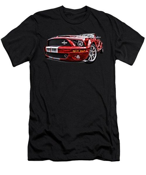 Shelby On Fire Men's T-Shirt (Slim Fit) by Gill Billington