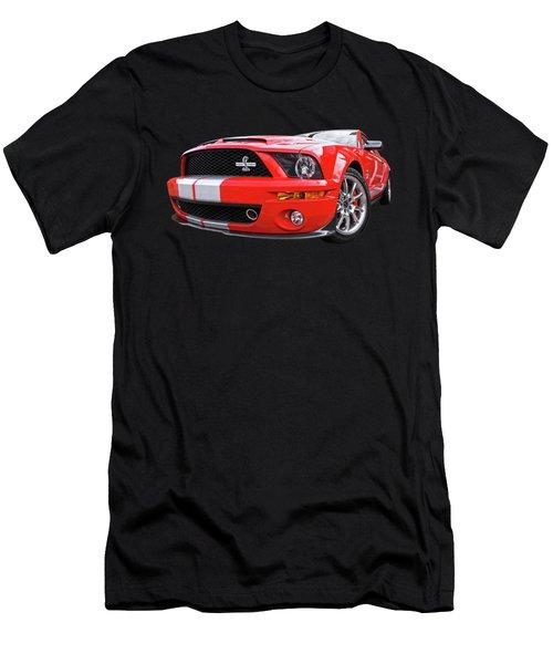 Smokin' Cobra Power - Shelby Kr Men's T-Shirt (Slim Fit) by Gill Billington