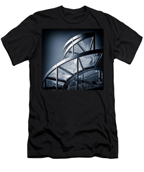 Spiral Staircase Men's T-Shirt (Slim Fit) by Dave Bowman