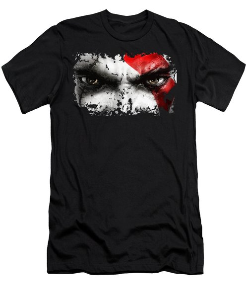 Strong Warrior Men's T-Shirt (Slim Fit) by Opoble Opoble
