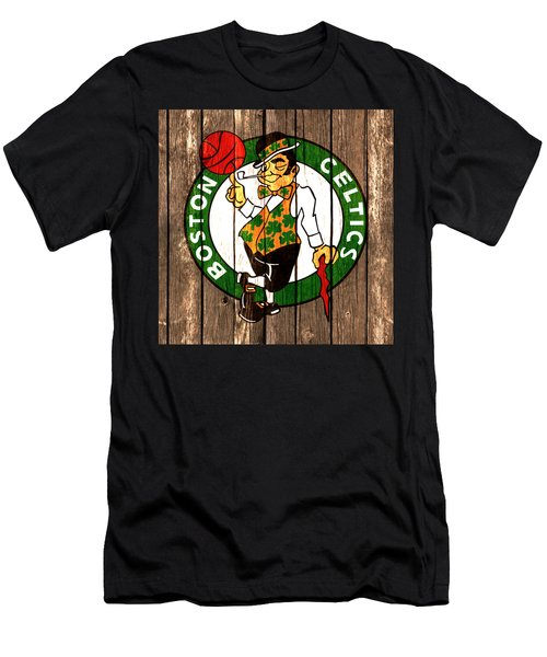 The Boston Celtics 2a Men's T-Shirt (Slim Fit) by Brian Reaves