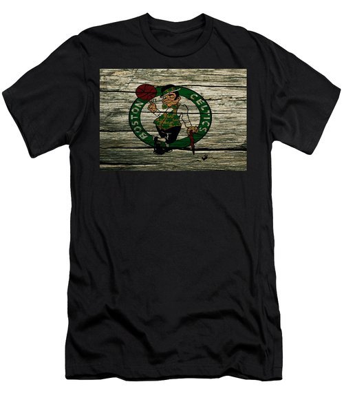 The Boston Celtics 2w Men's T-Shirt (Slim Fit) by Brian Reaves