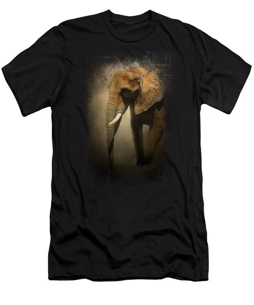The Elephant Emerges Men's T-Shirt (Slim Fit) by Jai Johnson