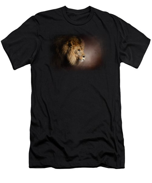 The Mighty Lion Men's T-Shirt (Slim Fit) by Jai Johnson