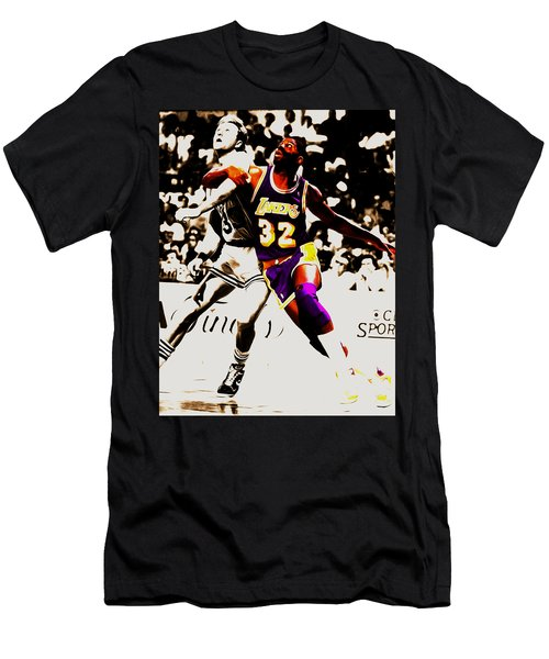 The Rebound Men's T-Shirt (Slim Fit) by Brian Reaves