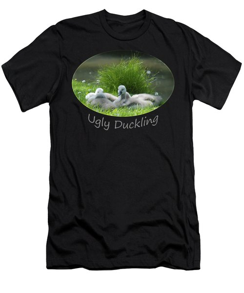 Ugly Duckling Men's T-Shirt (Slim Fit) by Richard Gibb