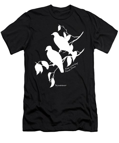 White Doves Men's T-Shirt (Slim Fit) by The one eyed Raven
