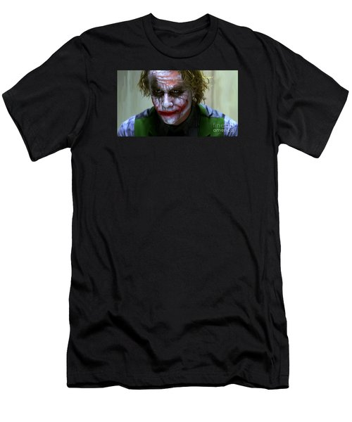 Why So Serious Men's T-Shirt (Slim Fit) by Paul Tagliamonte