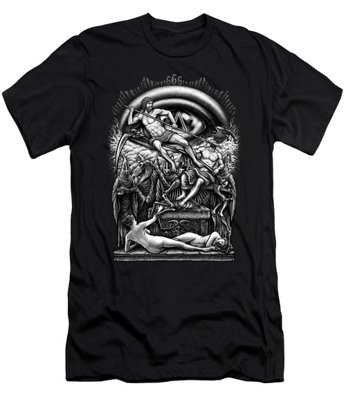 Winya No. 40 Men's T-Shirt (Slim Fit) by Winya Sangsorn