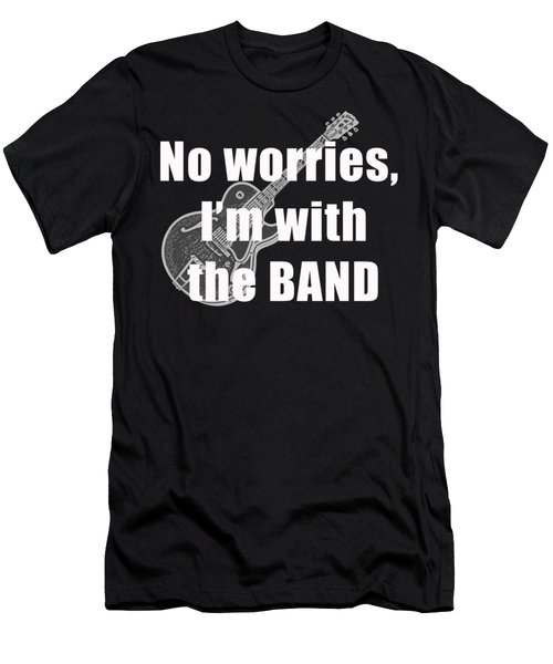 With The Band Tee Men's T-Shirt (Slim Fit) by Edward Fielding