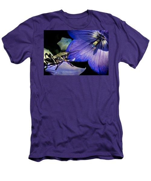 Contemplation Of A Pistil Men's T-Shirt (Slim Fit) by Karen Wiles