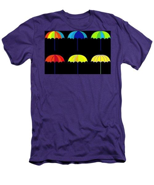 Umbrella Ella Ella Ella Men's T-Shirt (Slim Fit) by Florian Rodarte