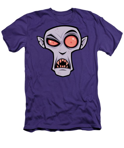 Count Dracula Men's T-Shirt (Slim Fit) by John Schwegel