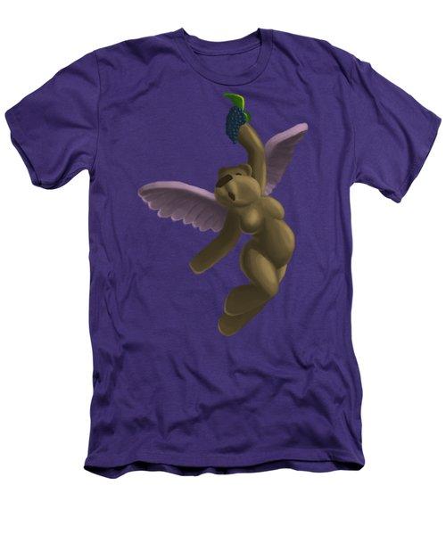 Cupid Bear 4 Men's T-Shirt (Slim Fit) by Jason Sharpe