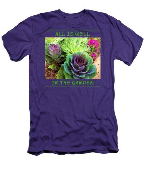 The Healing Garden Men's T-Shirt (Slim Fit) by Korrine Holt