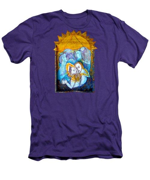 Transmisson Men's T-Shirt (Slim Fit) by Joanna Whitney