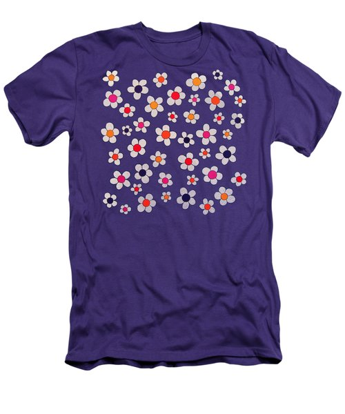 Woodflock Remix Men's T-Shirt (Slim Fit) by Oliver Johnston
