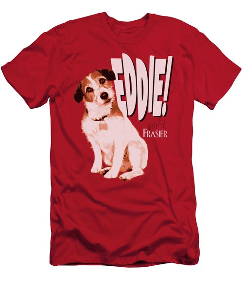 Frasier - Eddie Men's T-Shirt (Slim Fit) by Brand A