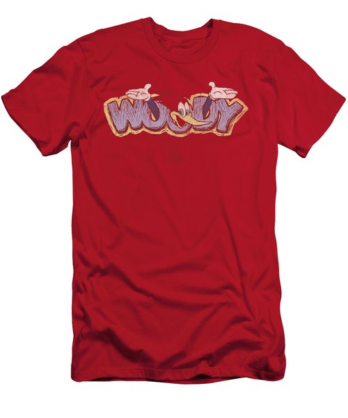 Woody Woodpecker - Sketchy Bird Men's T-Shirt (Slim Fit) by Brand A