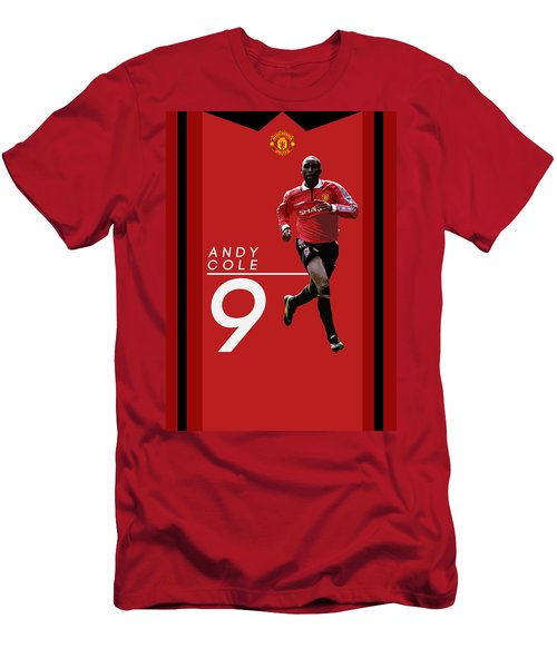Andy Cole Men's T-Shirt (Slim Fit) by Semih Yurdabak