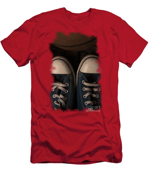 Time To Play Men's T-Shirt (Slim Fit) by Eugene Campbell
