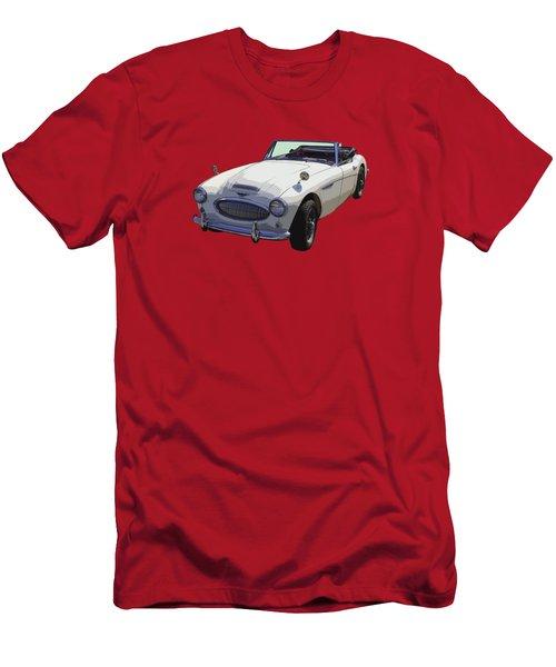 Austin Healey 300 Classic Convertible Sportscar  Men's T-Shirt (Slim Fit) by Keith Webber Jr