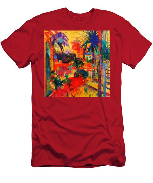 Beverly Hills Men's T-Shirt (Slim Fit) by Peter Graham