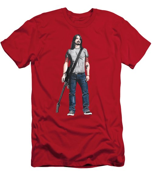 Extraordinary Hero Cutout Men's T-Shirt (Slim Fit) by Steven Hart