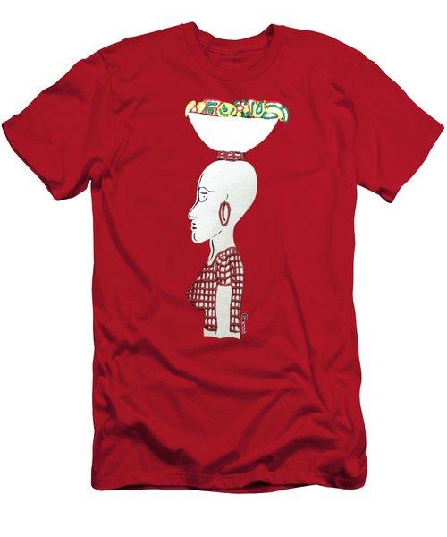 Market Woman1 Men's T-Shirt (Slim Fit) by Gerri McCritty