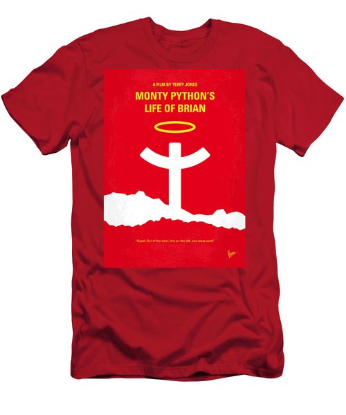 No182 My Monty Python Life Of Brian Minimal Movie Poster Men's T-Shirt (Slim Fit) by Chungkong Art