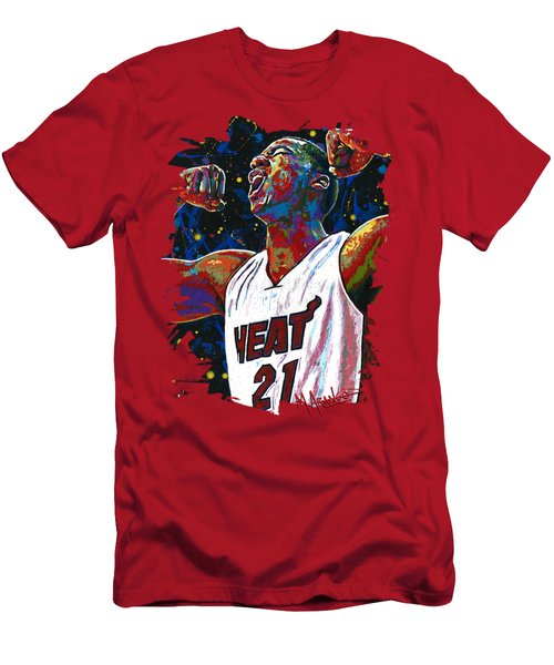 The Whiteside Flex Men's T-Shirt (Slim Fit) by Maria Arango